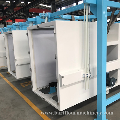 China made Flour Milling Twin Checking Sifters