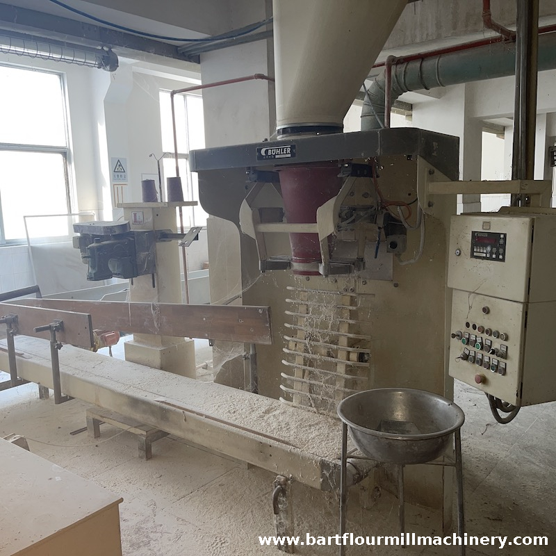 Buhler Single Spout Carousel Packing Line